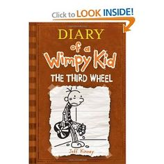 The Third Wheel (Diary of a Wimpy Kid, Book 7) --- http://www.amazon.com/Third-Wheel-Diary-Wimpy-Book/dp/1419705849/?tag=pintrest01-20