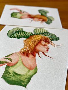 Calathea queen - plant illustration / poster / plant lady / plant print / botanical print Calathea, Plant Art, Plant Illustration, All Poster, Queen, Begonia, Botanical Prints, Beautiful Artwork, House Plants
