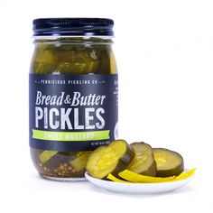 Bread and Butter Pickles: Sweet Mustard by Pernicious Pickling Co. on Gourmly