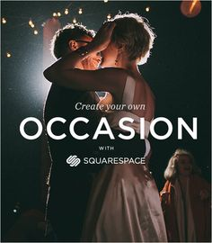 Squarespace Wedding Websites + A Discount!  Read more - http://www.stylemepretty.com/2014/02/06/squarespace-wedding-websites-a-discount/
