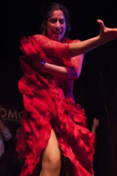 Saray La Pitita en el Tablao Flamenco Cardamomo en Madrid