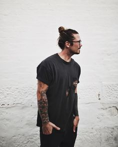These Guys Styling Their Hairbun Will Inspire You For Your Next - Mens hairstyle top knot
