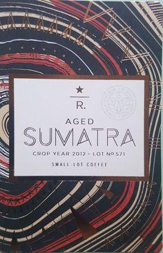 Starbucks Reserve Aged Sumatra design