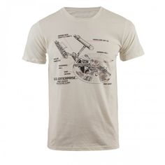 Star Trek Ship Diagram T-Shirt | Shop By Category | Apparel & Accessories | T-Shirts | Star Trek Store