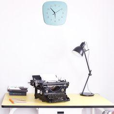Horloge vintage esprit formica Louise (4 coloris) Les Gambettes