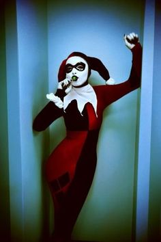 Character: Harley Quinn (Dr. Harleen Quinzel) / From: DC Comics 'Harley Quinn' & DCAU's 'Batman: The Animated Series' / Cosplayer: Unknown