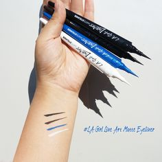 """New Arrival from LAgirl HOT NOWCreate precise thin lines and dramatic thick lines in one even stroke. Use promo code """"redblue"""" for 5% off  http://www.pick6deals.com/la-girl-line-art-matte-eyeliner.html"""