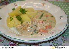 Kuřecí prsa se zeleninou ve smetanové omáčce v pomalém hrnci recept - TopRecepty.cz Potato Salad, Potatoes, Ethnic Recipes, Food, Potato, Essen, Meals, Yemek, Eten