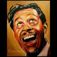 "Cab Calloway 12x16 "", acrylic on canvas Available at www.anitrafrazierart.com"