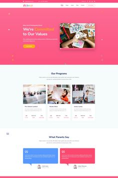 Kidzo is a creative best kids & children learning & activities WordPress Theme. This WordPress theme is targeted for kids, children – their education, schooling, and other activities. Kids Learning Apps, Learning Activities, Minimal Web Design, Ui Design, Work Family, Kids Class, Wordpress Theme Design, Web Design Services, Landing Page Design