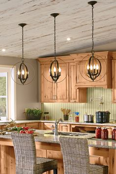 Give Your Kitchen A Rustic Refresh With Barn Board And Wicker Accents.  Learn More At HomeDepot.ca. #LoveYourHome