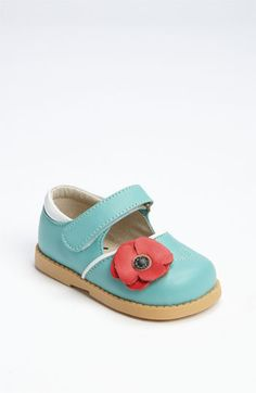 Free shipping and returns on See Kai Run 'Natalia' Mary Jane (Baby & Walker) at Nordstrom.com. A blooming poppy perches atop a play-ready mary jane.