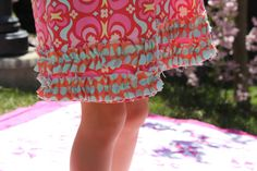 Hey, I found this really awesome Etsy listing at https://www.etsy.com/ru/listing/98493661/summer-pink-blue-orange-ruffle