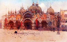 Watercolors by George Owen Wynne Apperley British artist