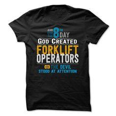 Forklift Operator - #teacher shirt #hoodie creepypasta. WANT IT => https://www.sunfrog.com/LifeStyle/Forklift-Operators.html?68278