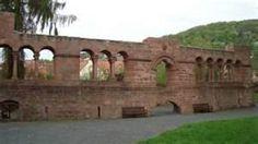 Ruins of Barbarossa's Castle in Gelnhausen, Germany