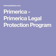 Primerica - Primerica Legal Protection Program
