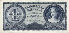 1000000000 Milpengö 1946 (Frauenportrait)