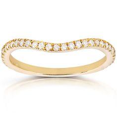 Elora 14k Yellow Gold 13ct TDW Diamond Bridal Anniversary Wedding