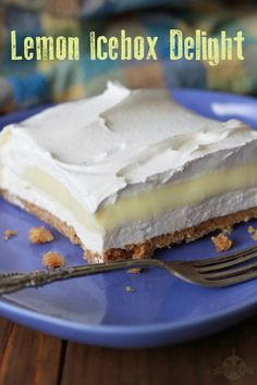Lemon Icebox Delight and Why You're Okay Not Being a Pinterest-Perfect Parent - Southern Bite