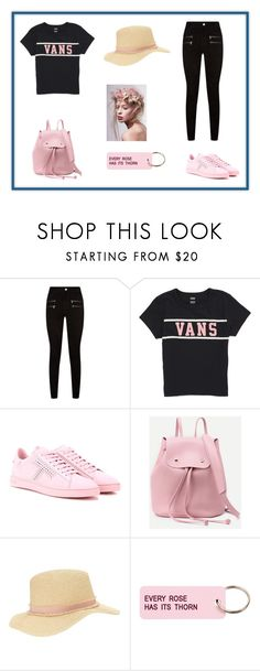 """Back To School OOTD"" by kemo-2 ❤ liked on Polyvore featuring beauty, Paige Denim, Vans, Tod's, Miss Selfridge and Various Projects"