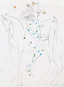 "Salvador Dalí. ""Le Cheval de Picasso"""
