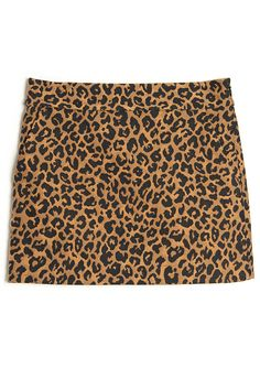 3.1 Phillip Lim Leopard Print Mini Skirt - Cat's Meow Trend on #ShopBAZAAR