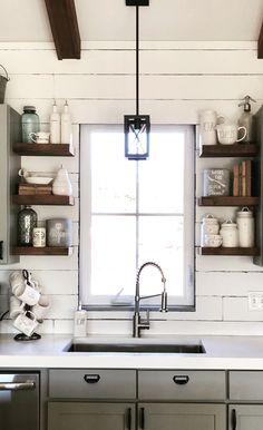 White Concrete Countertops, Double Vanity, Bathroom, Washroom, Full Bath, Bath, Bathrooms, Double Sink Vanity