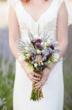 mit Lavendel