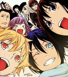 Characters - Noragami ~ DarksideAnime
