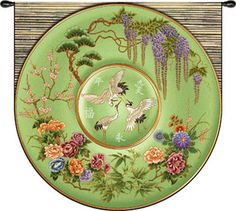 Antique Chinese Cloisonne Plate