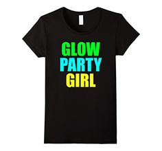 >> Click to Buy << Glow Party Girl Birthday T Shirt Punk Women T-Shirt 2017 Short Sleeve Round Collar Cotton Cartoon Character Female Fantastic #Affiliate