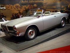 Bertone BMW 3200 CS Cabriolet 1962