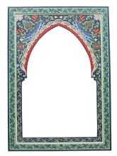 A selection of Moroccan mirrors handmade hand engraved and hand-painted by master craftsmen in Morocco Mirrors with beautiful hand crafted frames in Moroccan Mirror, Frame Crafts, Hand Engraving, Beautiful Hands, Morocco, Craftsman, Mirrors, Tea Pots, Sink