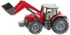 Buy Siku: Massey Ferguson Tractor with Front Loader - at Mighty Ape NZ. The Massey-Ferguson 8690 with frontloader from the agricultural models series adds a powerful toy model to this collection. A movable shovel and . Jaguar, Siku Farmer, Dickie Toys, Types Of Waste, Mercedes Benz, Plastic Components, Play Vehicles, Cadillac Escalade, Diecast Model Cars