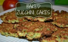 These Baked Zucchini Cakes are great as a side dish or even as a clean eating meal themselves.