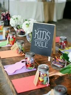 """Make it fun to sit at the """"Kids table"""""""