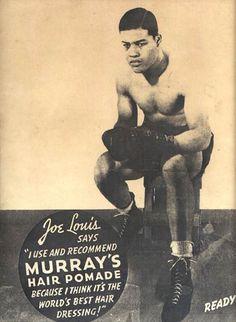 Joe Louis for Murray's Pomade