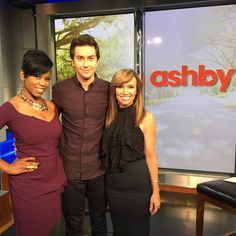 The very talented #NatWolff came to visit #SaraGore and #JacqueReid at #NYL to talk about #Ashby and #TheIntern