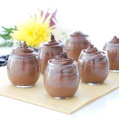 Cuajada de chocolate con ganaché