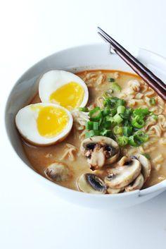 Homemade Spicy Miso Ramen Recipe