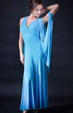 Santoria Paradeisos Ballroom Dance Dress DR7061 | Dancesport Fashion
