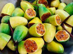 """Among the many fruits that the #Andes provide us there´s """"#tumbo"""", a product that has a similar appearance to """"maracuya"""", but with a different taste. #Peru will also surprise you with its varied gastronomy! // Entre las innumerables #frutas que nos ofrecen los #Andes se encuentra el #tumbo, un producto con un aspecto muy parecido al del #maracuyá, pero con ciertos cambios en su sabor. ¡El #Perú también te sorprenderá por su variedad gastronómica!"""