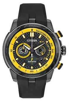 Citizen Eco-Drive Matt Kenseth Limited Edition Eco-Sphere Men's watch : Limited Edition - No. Citizen Eco, Black Stainless Steel, Stainless Steel Watch, Sport Watches, Watches For Men, Citizen Watches, Men's Watches, Matt Kenseth, Watch Model