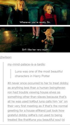 Luna was a beautiful character