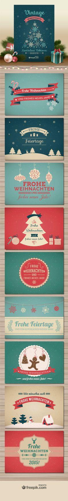Schnelle noch eine Weihnachtskarte verschicken!
