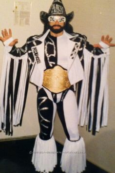 Cool Homemade Macho Madness Costume...