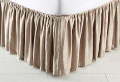 Alessandra Bed Skirt, Taupe
