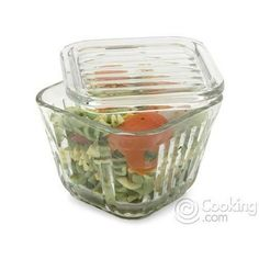 ANCHOR Glass Refrigerator Storage Container, 2 cup capacity, Sold in packs of 4 by ANCHOR HOCKING. $43.68. Sold as a 6 pack, Made in USA. Stackable, reheat food right in the dish. 2 cup capacity, Includes lid. Dishwasher safe and microwave safe. Stores food the fresh way by using vintage-style. * Stores food the fresh way by using vintage-style glass storage container * Stackable, tidy glass is perfect for stashing ample portions of leftovers, salads or for mari...