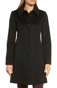 Main Image - Fleurette Wool Coat